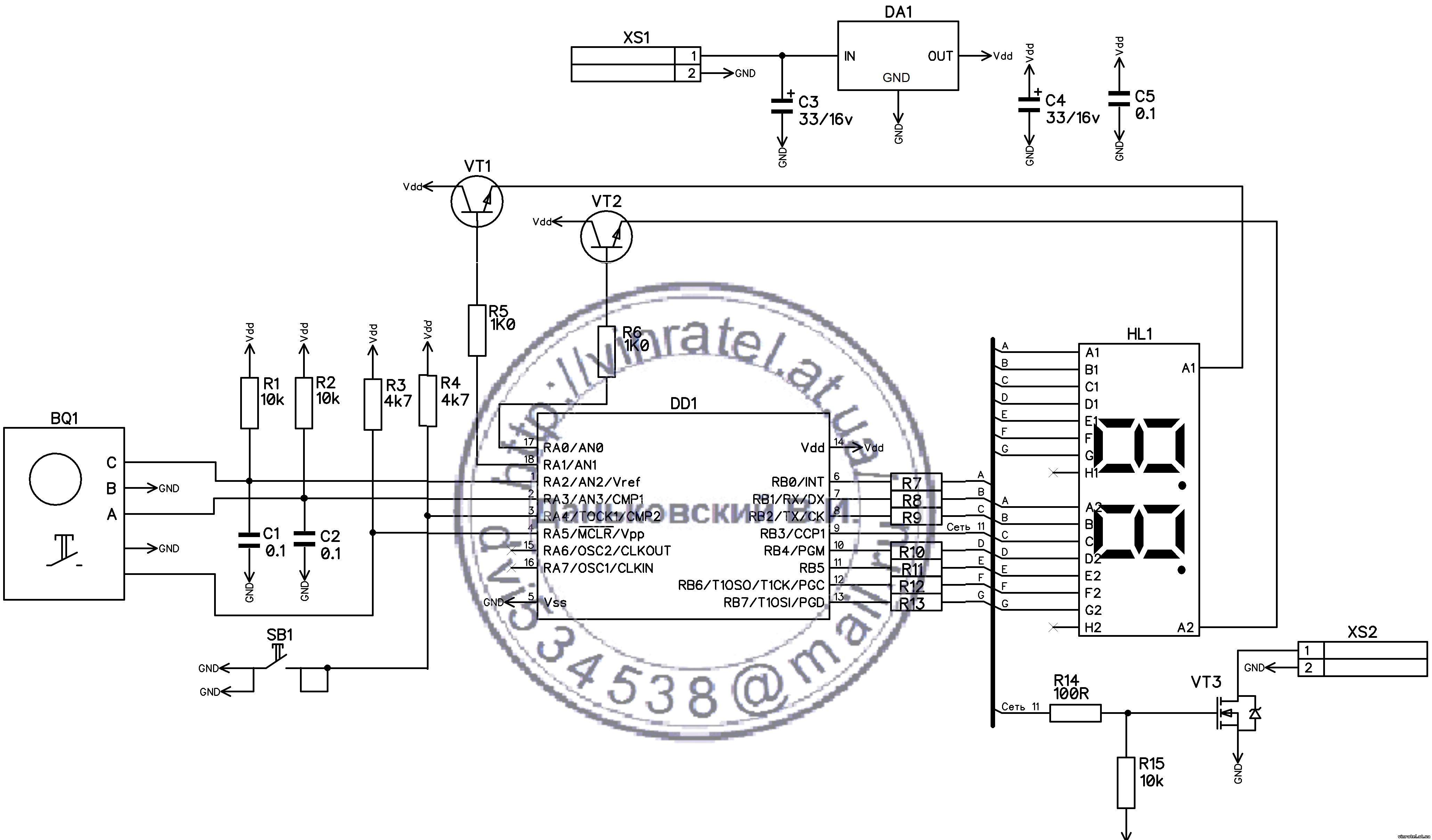 схема регулирование скорости постоянного двигателя
